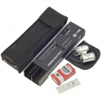 Jewelry/ Diamond Test Tool Portable Diamond Tester + 60x Mikroskop -TE020