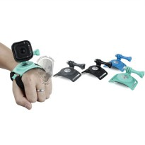 TMC Hand Wrist Arm Leg Strap Mount for GoPro & Xiaomi Yi - HR357 - Black