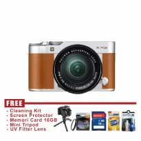 Fujifilm X-A3 Kit Lens 16-50mm - Camel - FREE Accessories