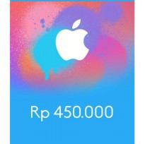 Itunes Gift Card Indonesia 450rb / IGC INDO 450K
