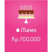 Itunes Gift Card Indonesia 700rb / IGC INDO 700K