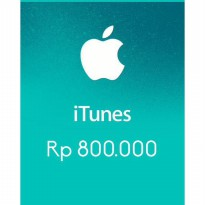 Itunes Gift Card Indonesia 800rb / IGC INDO 800K
