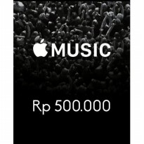 Itunes Gift Card Indonesia 500rb / IGC INDO 500K