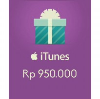 Itunes Gift Card Indonesia 950rb / IGC INDO 950K