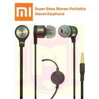 Handsfree Super Bass Xiao Mi + Mic Bisa Telpon | Earphone | Headset Xiaomi