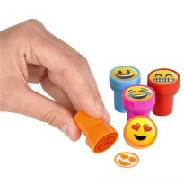 Stempel Cap Emoji 10PCS - Multi-Color