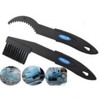 Dedicated Bicycle Chain Cleaning Brush / Sikat Pembersih Rantai Sepeda - Black