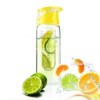 Botol Minum Infuser 750ml - Yellow