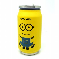 Botol Minum Kaleng Termos Insulated Mug 300ml / Thermos - Yellow
