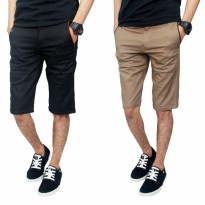 Celana Pendek Chinos Stretch