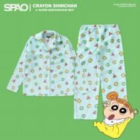 [SPAO x CRAYON SHINCHAN] Family Pajama (Cr) MINT