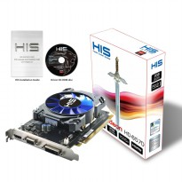 HIS HD 6570 VGA Card 2GB DDR5 128Bit Fan