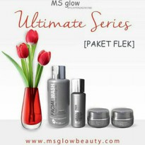 [FLEK] Paket Cream Ultimate Ms Glow Skincare Flex Series