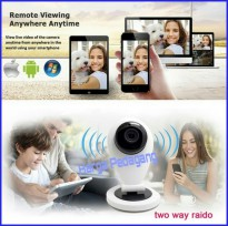 Ip Camera Wifi YI HD 720p Infrared IR Night HD96GH6