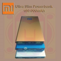 Powerbank Xiaomi 190.000mAh Ultra Slim | Power Bank Xiao mi 190000mAh Ultra Slim