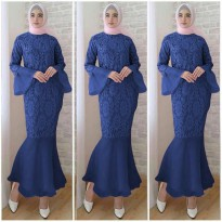 Dress Organdi Brukat Duyung 118805O