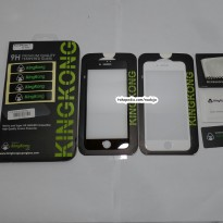 KingKong Iphone 7G Full / Full Layar /Curved Tempered Glass Anti Gores Kaca
