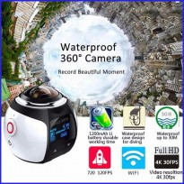 Camera Panorama 360 Degree 4k - Wifi Sports Camera ( Best Quality )