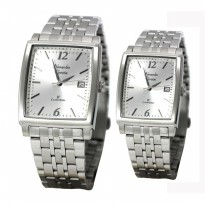 Jam Tangan Couple Alexandre Christie AC8428 Original