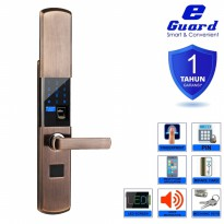E-Guard Smart Digital Door Lock Fingerprint Kuncipintu Digital 1610