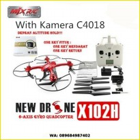 MJX X102H Upgrade X101 Wifi + C4018 720P  Real Time camera FPV