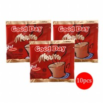 Good Day Mocacinno 3in1 Kopi Sachet - 20gr isi 10pcs (1 Renceng)