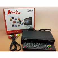 Set Top Box TV AUTO SAT DVB T2 Media Player Full HD 1080p usb port