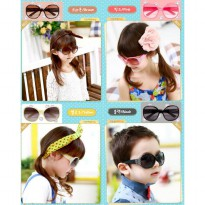 ~Cutevina~ Cute Kid Fashion Glasses & Case (140402G) Kacamata anak