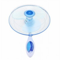 Miyako Kipas Angin dinding Wall Fan Miyako with remote Control KAW-1689RC - Biru