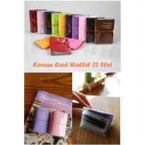 DOMPET KOREAN CARD WALLET 32 SLOT