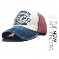 Topi Baseball Snapback NYPD Sport Fashion - Blue