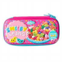 Smiggle Tempat Pensil Scented Lolly Dude Hardtop Pencil Case - Pink