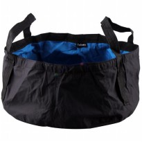 Tuban Portable Outdoor Drifting Waterproof Bucket Dry Bag 8.5 Liter - Black Blue