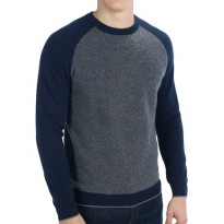 (Brother Joey) Sweater O Neck Raglan Katun Pria