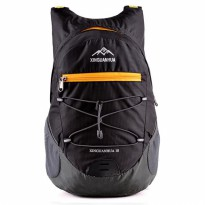 Xinguanhua Tas Gunung Lipat Waterproof 17L - Black