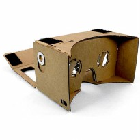 Cardboard Virtual Reality for Smartphone - Silver Magnet