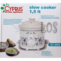 Cyprus Slow Cooker 1.5lt (00152.00023) (+BB10)