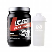 L-Men Platinum + Smart Shaker (Pure White)