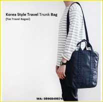 Korea Style Travel Trunk Bag / Tas Selempang / Tas Bagasi