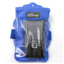 Bingo Waterproof Bag for Smartphone 4.0 Inch - WP06-2/WP06-3 - Blue