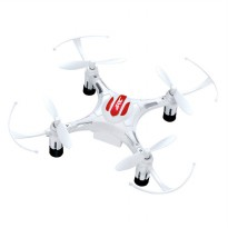 H8 Drone Mini Pocket Quadcopter RC 2.4GHz 4CH 6-Axis - White
