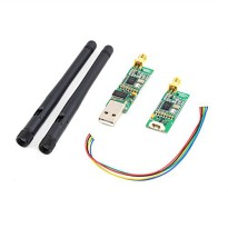 Single TTL 3DRobotics 3DR Radio Telemetry Kit 915Mhz Module for APM - Black