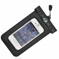 Bingo Waterproof Bag for Smartphone 4.8 Inch with Compass - WP0613 - WP0619 - Black