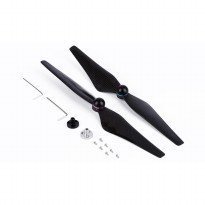 Baling-Baling DJI Phantom 4 Elf 9450S QR Carbon Paddle 2 PCS - Black