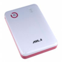AILI Case Power Bank DIY untuk 4Pcs 18650 - White/Pink