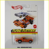 Hot Wheels Flying Customs Series Orange Porsche 935/78