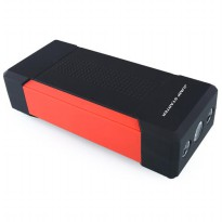 Portable Car Jump Starter with Power Bank 21000mAh 5V 2A - Black/Red