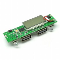 Power Bank Case DIY Circuit Board 2 USB Port & LCD