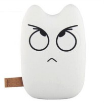 Totoro Power Bank 10400 mAh - DengYan Design - White