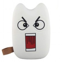 Totoro Power Bank 10400 mAh - BaoLong Design - White